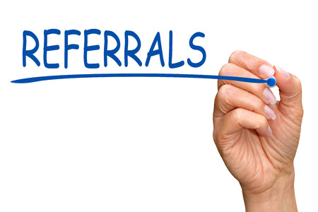 affiliation: Referrals Stock Photo