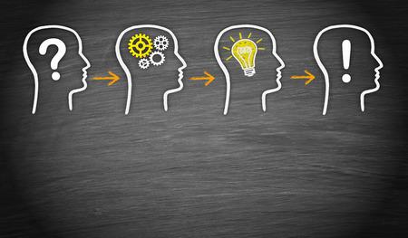 Problem - Think - Idea - Solution