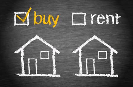 Acheter une maison Banque d'images - 34414280