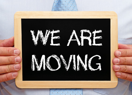 relocating: We are moving