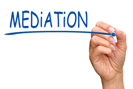 mediator: Mediation Stock Photo