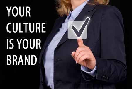 당신의 문화는 당신의 브랜드입니다. 스톡 콘텐츠