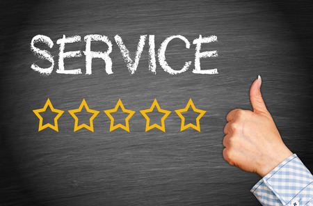 testimonials: Great Service - Five Stars