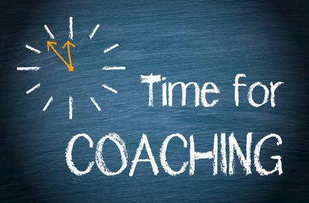 Time for Coaching Foto de archivo