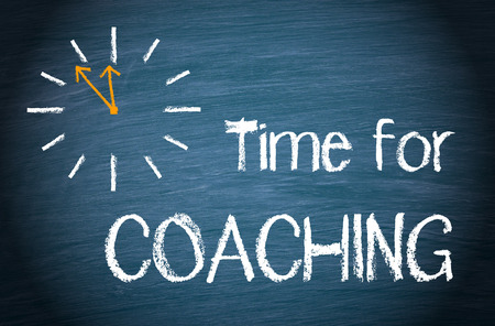 talent management: Time for Coaching Stock Photo