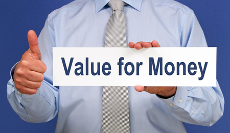 Value for Money 스톡 콘텐츠