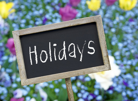 absence: Holidays