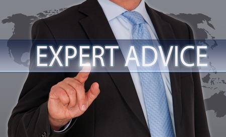 専門家のアドバイス 写真素材