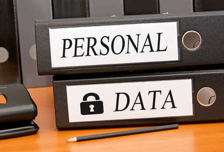 personal banking: Personal Data - Data Security