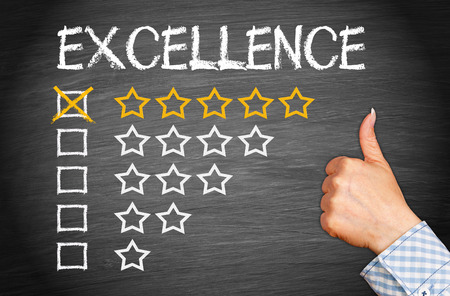 reputation: Excellence - Five Stars