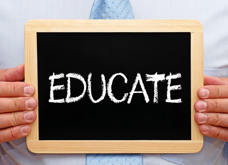 Educate Stock Photo