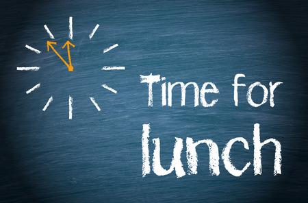 lunch: Tiempo para el almuerzo Foto de archivo