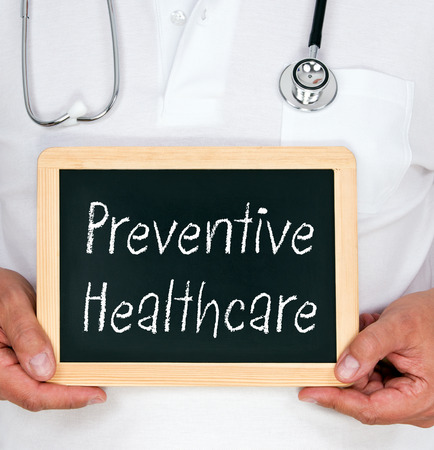 gezondheid: Preventieve Gezondheidszorg Stockfoto