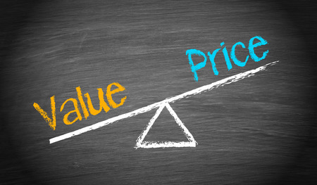 business value: Value and Price - Balance Concept