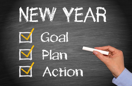 New Year - Goal Plan Action