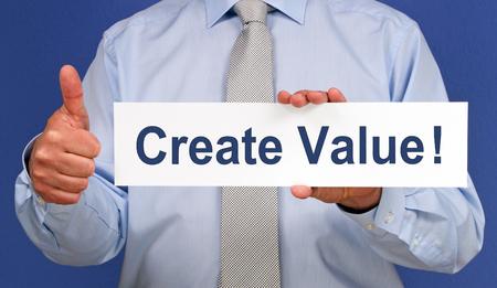 Create Value photo