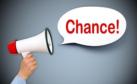 chance: Chance ! Stock Photo
