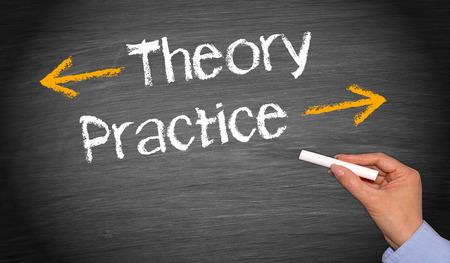 Teoría y Práctica Foto de archivo - 35273588