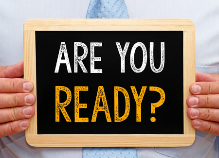 準備はいいですか。