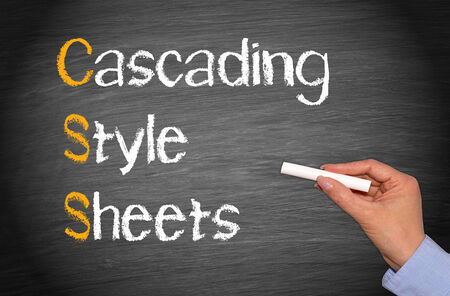 cascading: CSS - Cascading Style Sheets