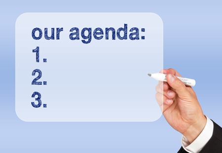 Meeting Agenda photo