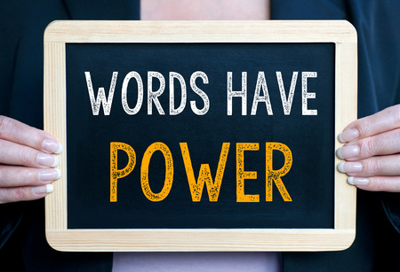 Words have Power Stock Photo - 35551368