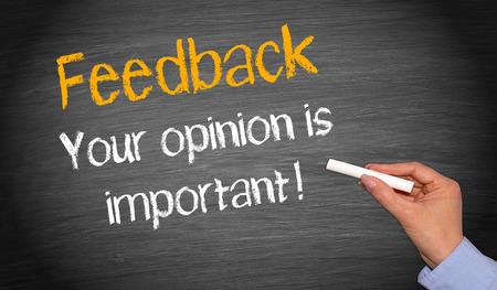 Feedback - Ihre Meinung ist wichtig!