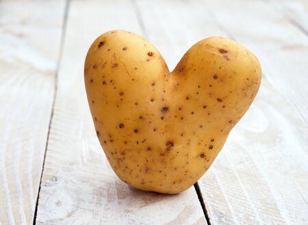 Heart shaped Potato photo