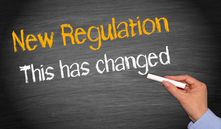 regulations: New Regulation - This has changed