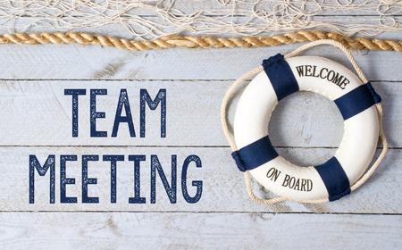 net meeting: Team Meeting - Welcome on Board