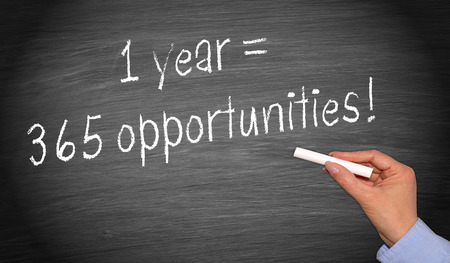 1 year = 365 opportunities photo