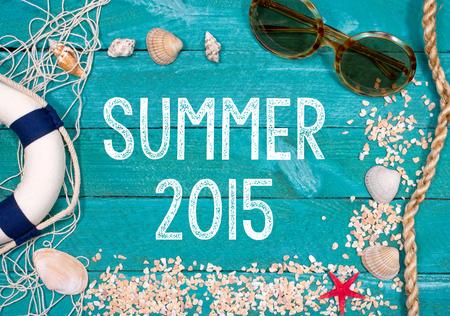 vacances d �t�: �t� 2015 Banque d'images
