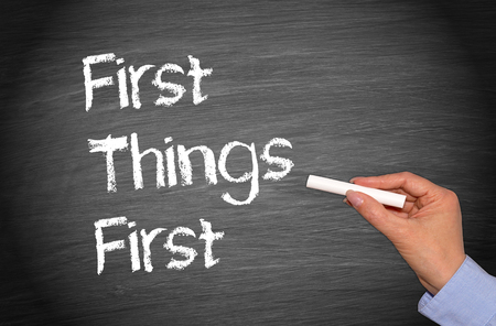 marketingplan: First Things First