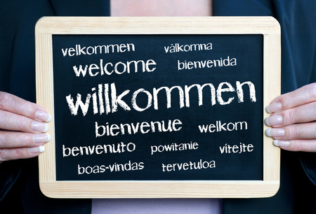 Welcome Stock Photo - 41513878