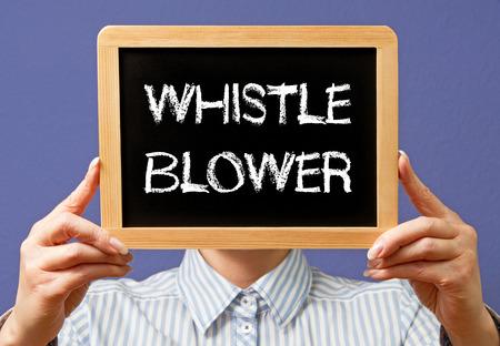 Whistle Blower Standard-Bild