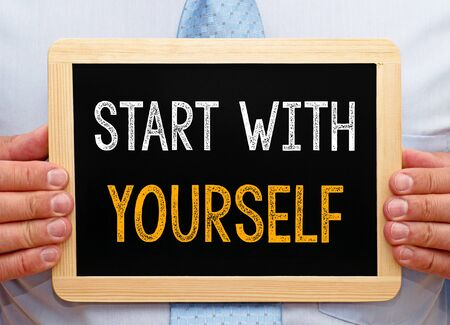 self  discipline: Start with yourself