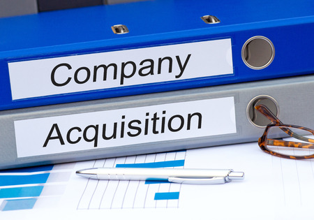 Company and Acquisition Stock Photo - 43608615