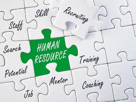 Recursos Humanos - concepto de negocio Foto de archivo - 43608962