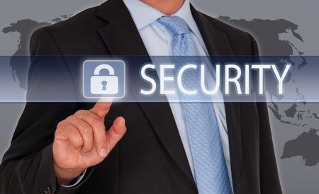 Sicherheit Standard-Bild