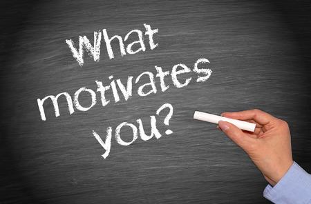 What motivates you ? Stock Photo - 43609193