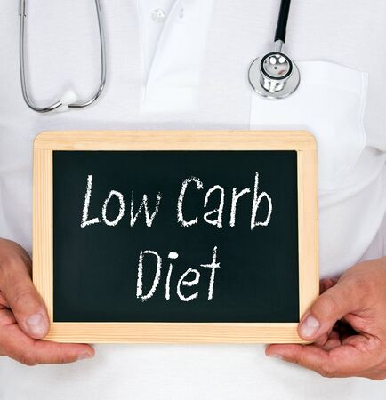 low: Low Carb Diet Stock Photo