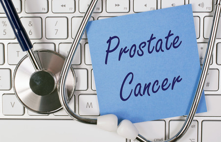 urologist: Prostate Cancer Stock Photo