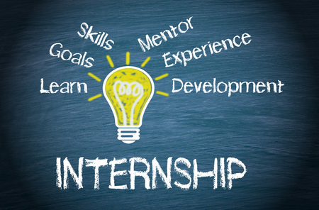 internships: Internship - Business Concept Stock Photo