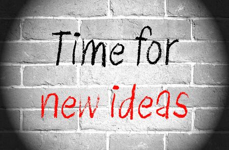 new ideas: Time for new ideas
