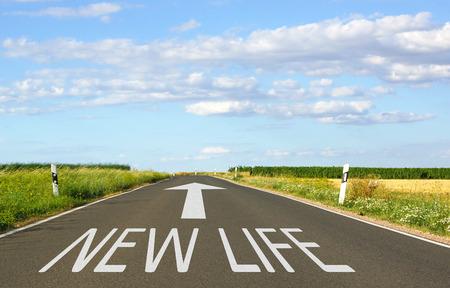 Nouvelle vie Banque d'images