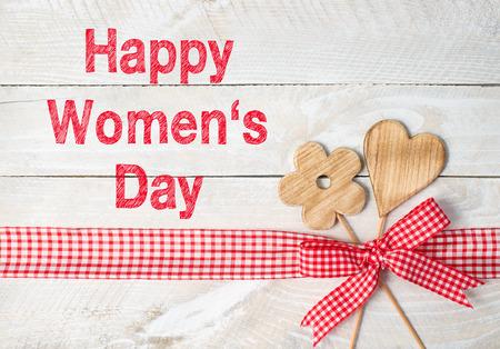 Feliz Día de las mujeres Foto de archivo - 43953549