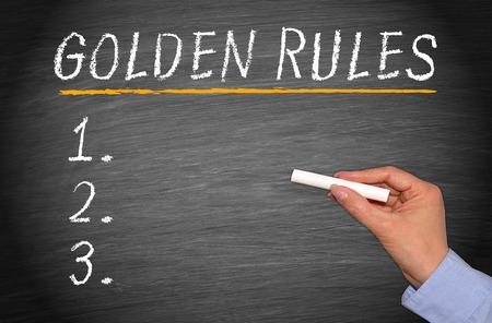 golden rule: Golden Rules