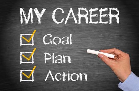 Ma carrière - Plan d'action Objectif
