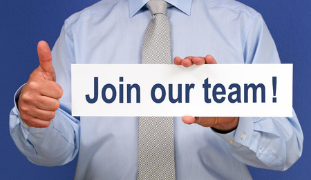 our: Join our team !