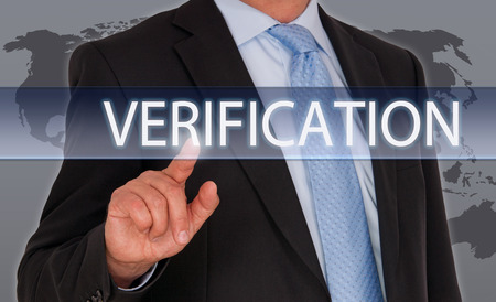 verification: Verification Stock Photo